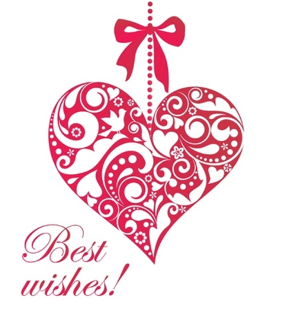 Best wishes  Illustration