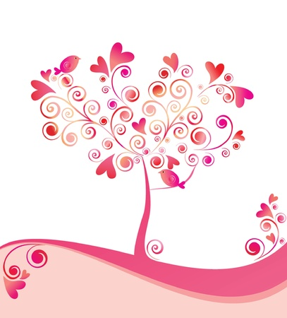 Beautiful tree Vector