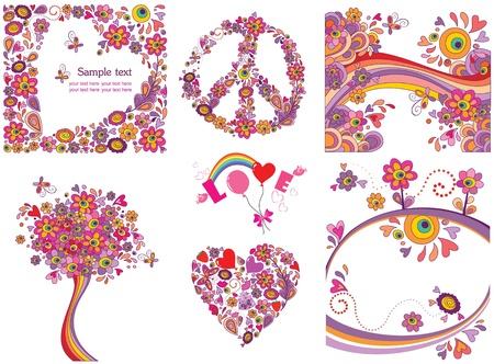 simbolo de paz: Divertidos tarjetas de felicitación