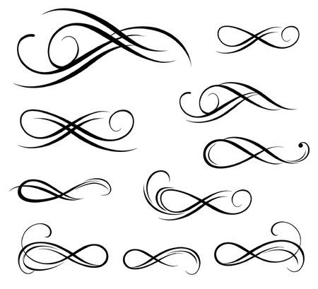Zwarte stencil Vector Illustratie