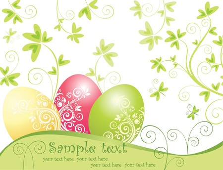 Easter card Stock Vector - 18944406
