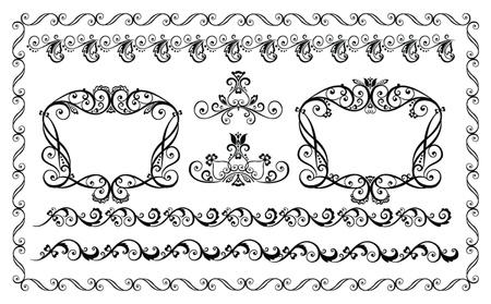 Decorative borders Stock Vector - 18944349