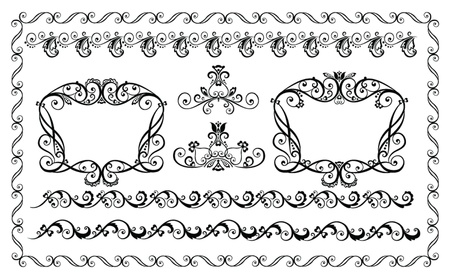 Decorative borders Stock Vector - 18944349