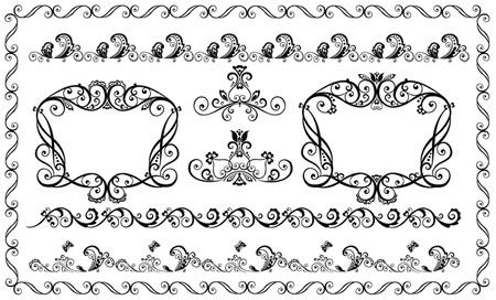 Decorative elements Stock Vector - 18944395