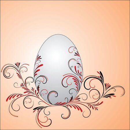 siluetas: Easter card