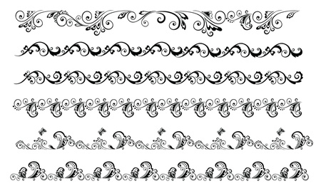 ornamental scroll: Decorative borders