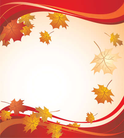 Autumnal banner Stock Vector - 18972569