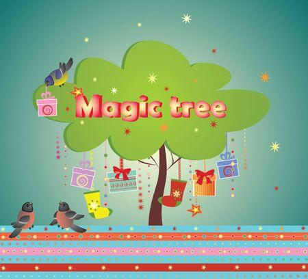 magic box: Magic tree