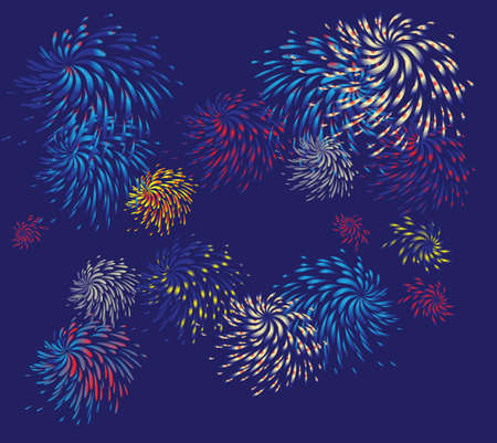 Firework  See my gallery for more Stock Vector - 18972721