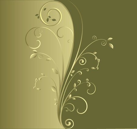Abstract green background. See my gallery for more Vector