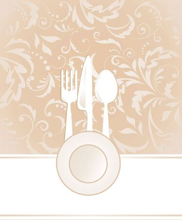Menu card Stock Vector - 18972759