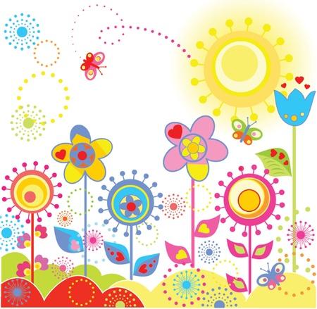 Tarjeta divertida colorida