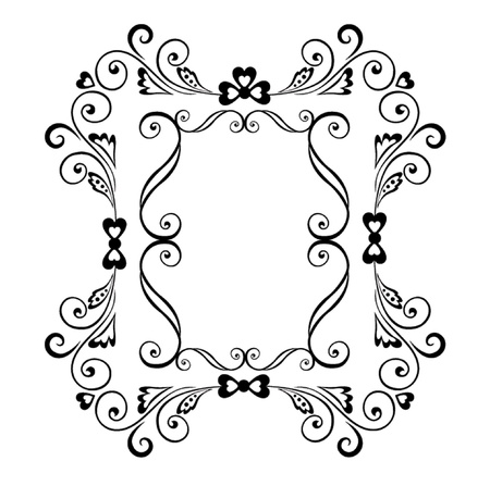 Decorative border Stock Vector - 18972405
