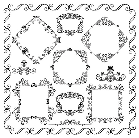 Decorative elements Stock Vector - 18972852