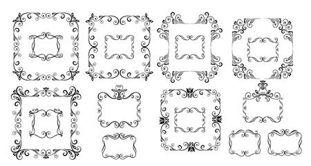 Decorative frames Stock Vector - 18972906
