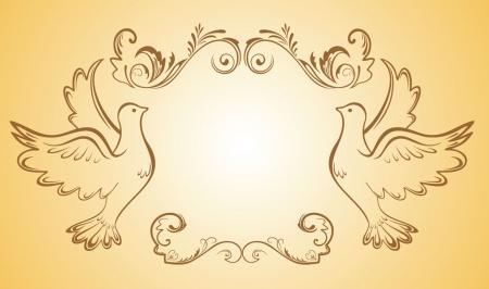 catholic wedding: Wedding frame