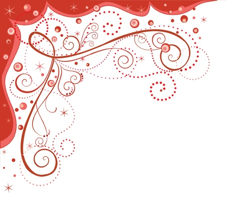 Decorative red border Stock Vector - 19002997