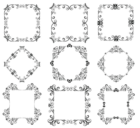 Decorative frames Stock Vector - 19003076