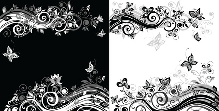 adornment: Retro backgrounds Illustration