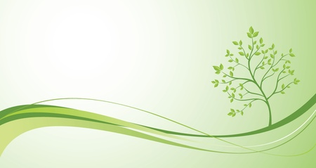 Creative green banner Stock Vector - 19002835