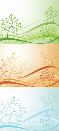 Seasonal banner Stock Vector - 19003026