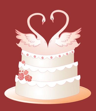 Wedding cake Stock Vector - 19002831