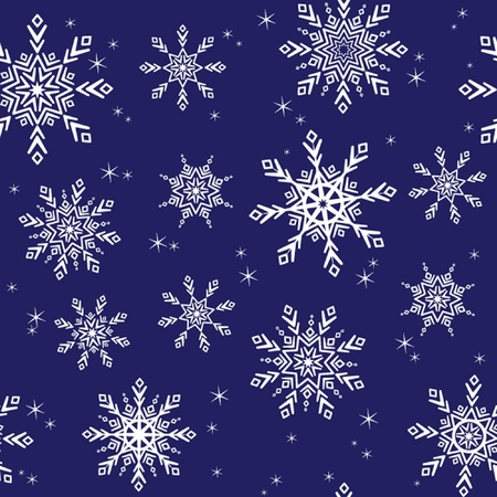 Seamless winter background. See my gallery for more Vector