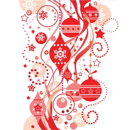 Christmas red background Stock Vector - 19002962