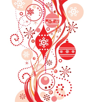 Red christmas background Stock Vector - 19002960