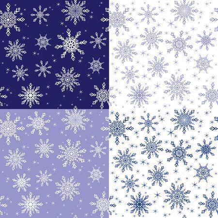winter wallpaper: Papel pintado incons�til del invierno Vectores