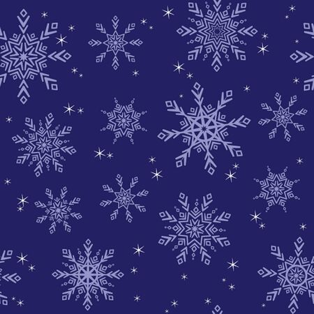 Seamless christmas illustration. See my gallery for more Vector