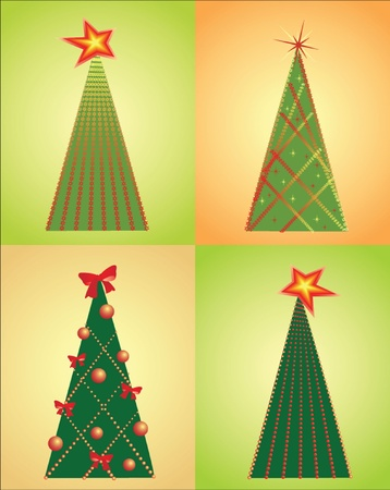 Christmas tree. See my gallery for more Vector