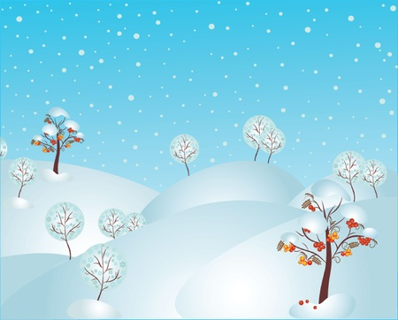 Winter illustration. See my gallery for more Stock Vector - 19024232
