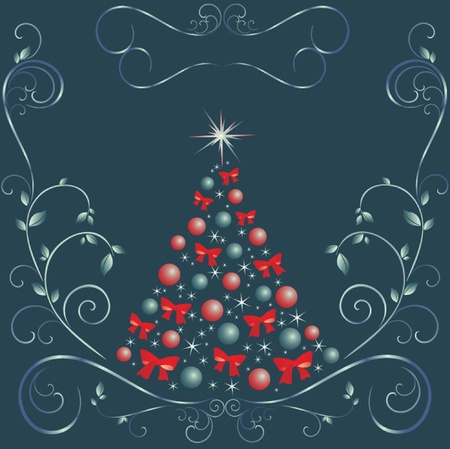 Xmas card. See my gallery for more Stock Vector - 19024365