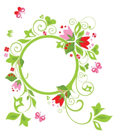 fleur: Flower frame
