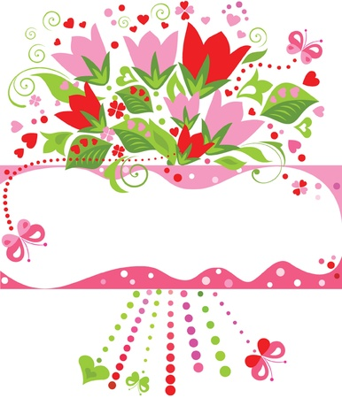 fleur: Greeting card