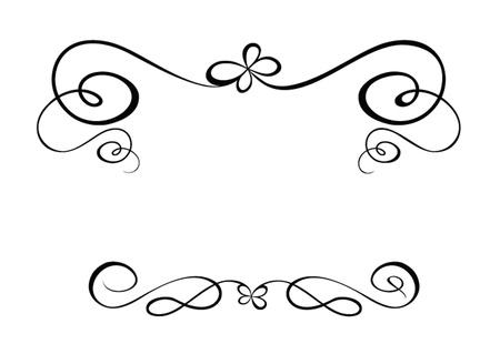 ruban noir: Cadre de voeux
