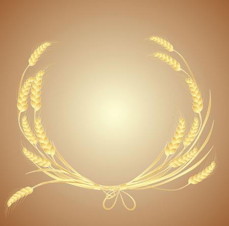 sheaf: Wheat wreath