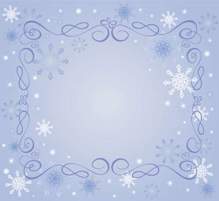 Xmas frame Stock Vector - 19024276