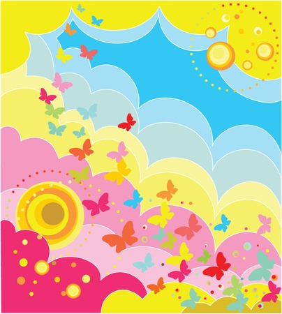 Holiday colorful background Stock Vector - 19024282