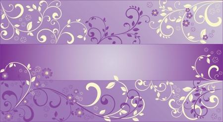 抽象的な紫色の背景  イラスト・ベクター素材