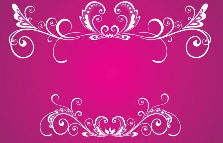 wed: Decorative white frame