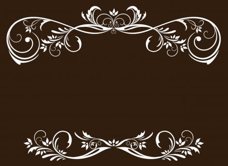 wed: Vintage white frame