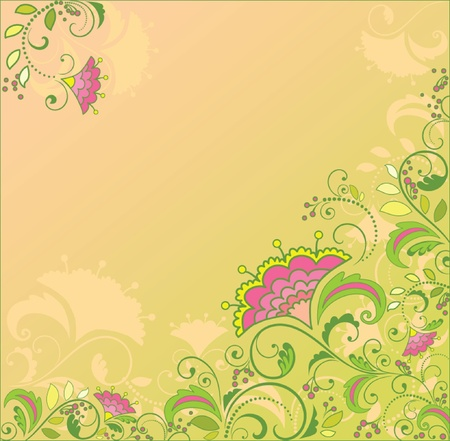 Floral background Stock Vector - 19034693