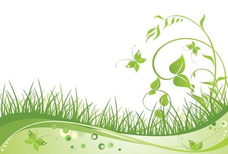 Groene eco-kaart