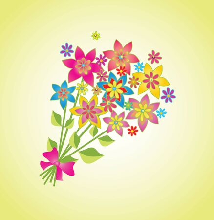 Spring bouquet Stock Vector - 19034762