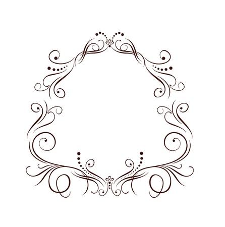 結婚式の境界線  イラスト・ベクター素材