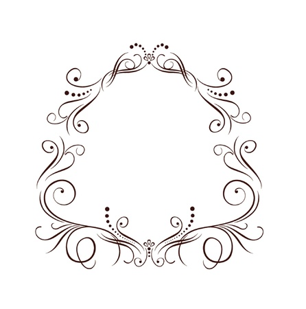 Wedding border Stock Vector - 19034707