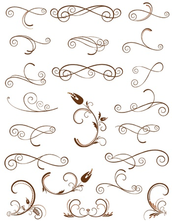 Scroll design Stock Vector - 19034669