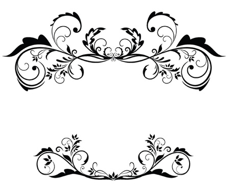 Black vintage frame Stock Vector - 19034621